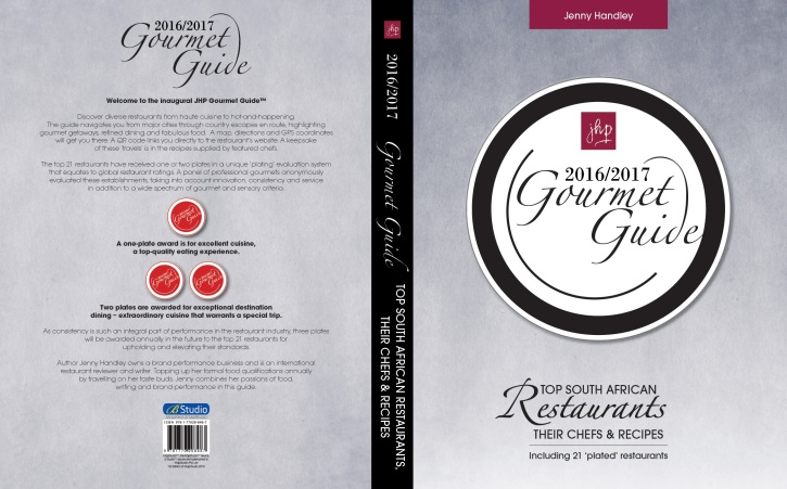 JHP Gourmet Guide cover
